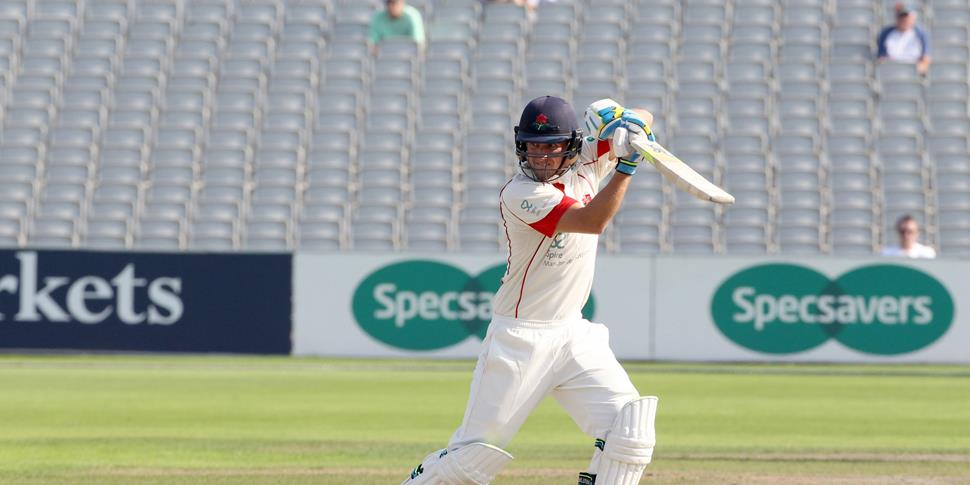 liam livingstone in action for lancashire ccc in the specsavers county championship against middlesex at old trafford.jpg