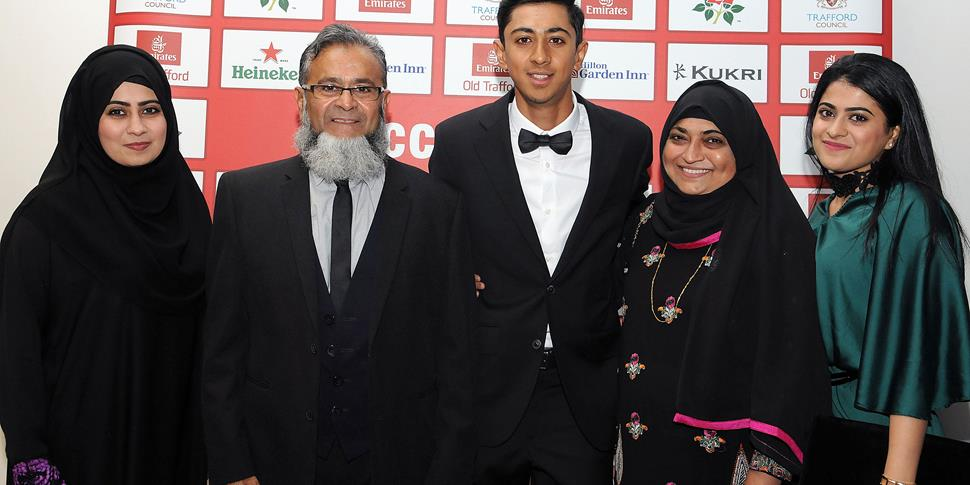 Haseeb Hameed at the LCCC player of the Year Awards.jpg