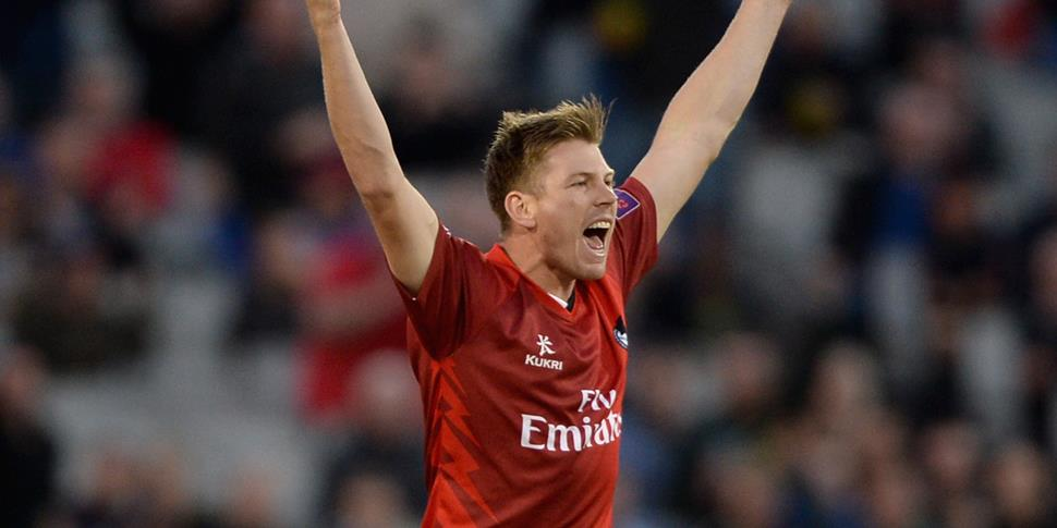 James Faulkner appeals for a wicket during the NatWest T20 Blast.jpg