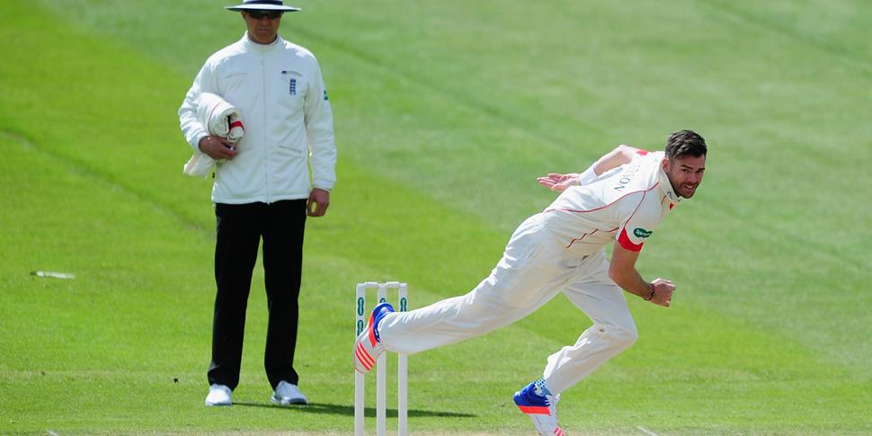 James Anderson bowling for Lancashire.jpg