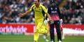 Josh Hazlewood of Australia celebrates dismissing Alex Hales of England during the ICC Champions Trophy match between England and Australia.jpg