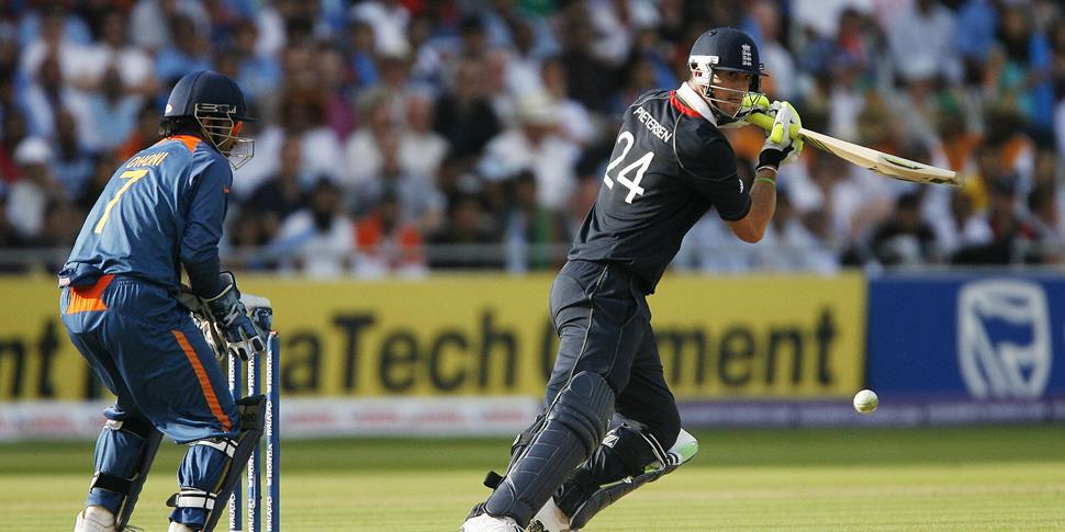 Kevin Pietersen of England bats against India during the Super 8 stage of the ICC Twenty20 Cricket World Cup at Lords in London.jpg