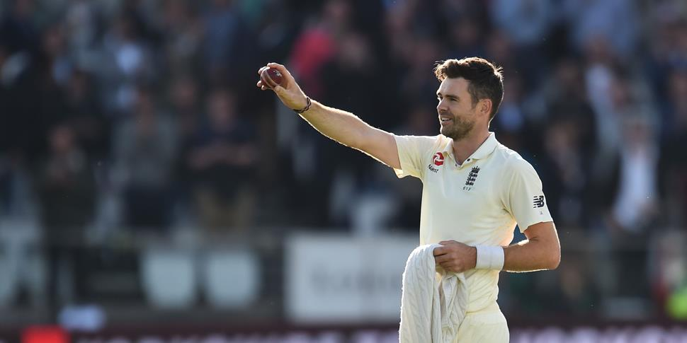 Lancashire fast bowler James Anderson England cricket highlights.jpg