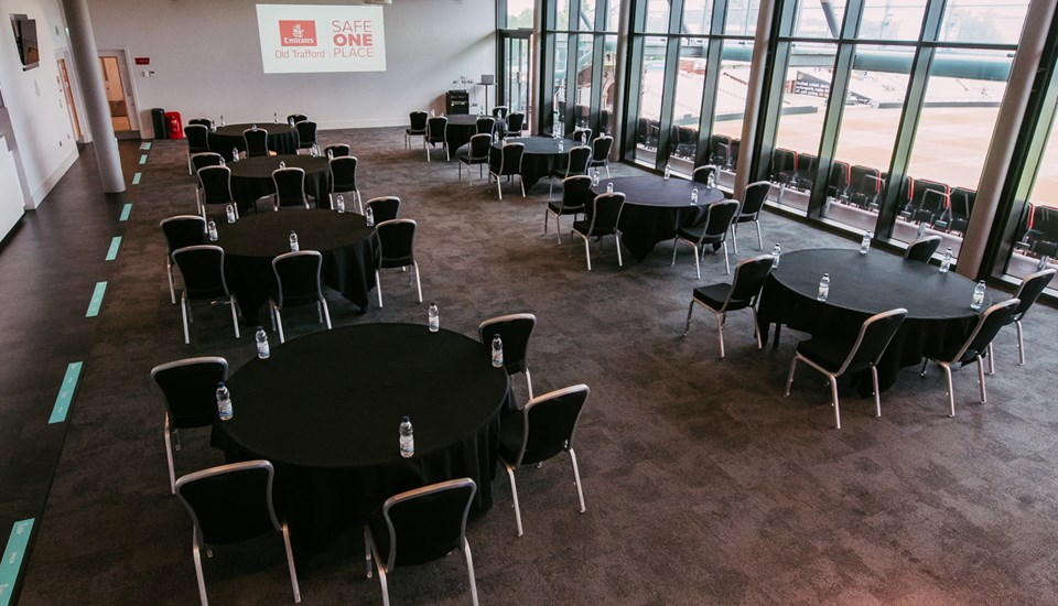 Small conference meeting room at Emirated Old Trafford Manchester Venue.jpg