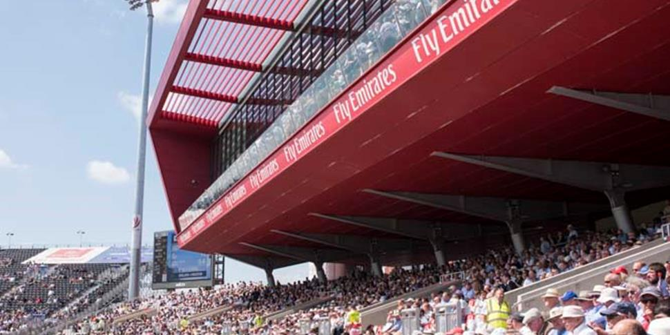 Emirates Old Trafford Manchester, the home of Lancashire County Cricket Club.JPG