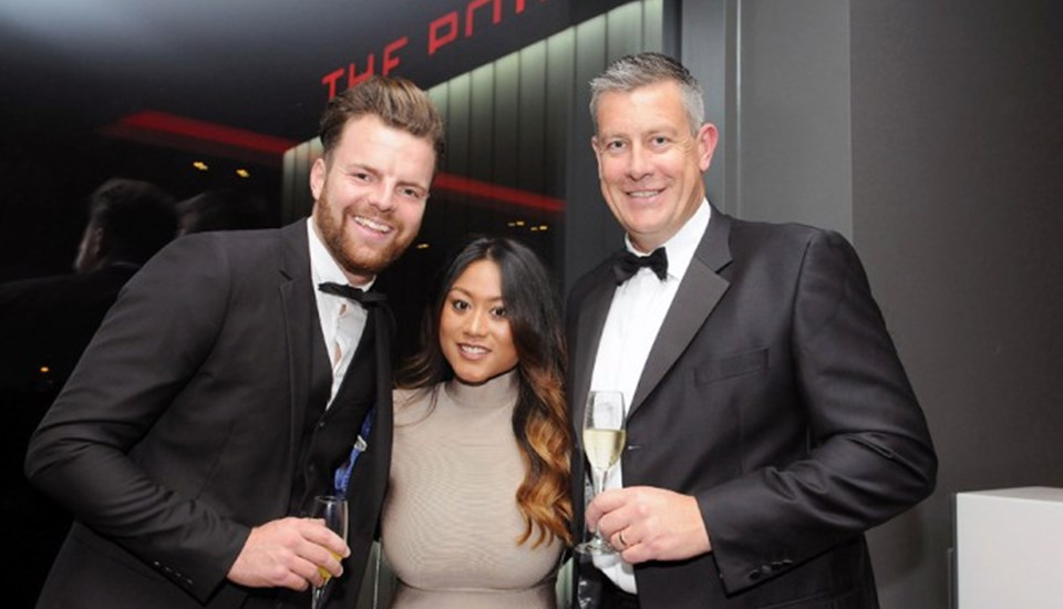 Aaron Lilley and Ashley Giles in The Point for the Player Awards.jpg