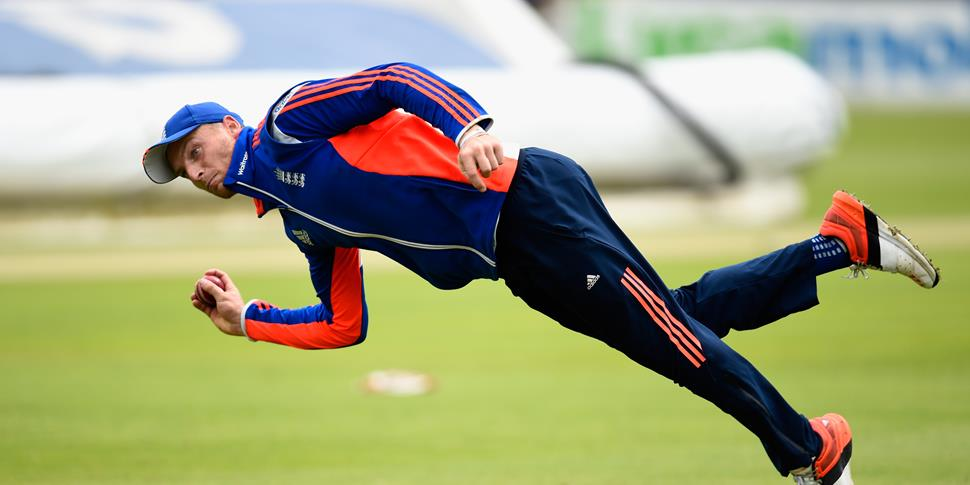 Lancashire Cricket player Jos Buttler training for England.jpg