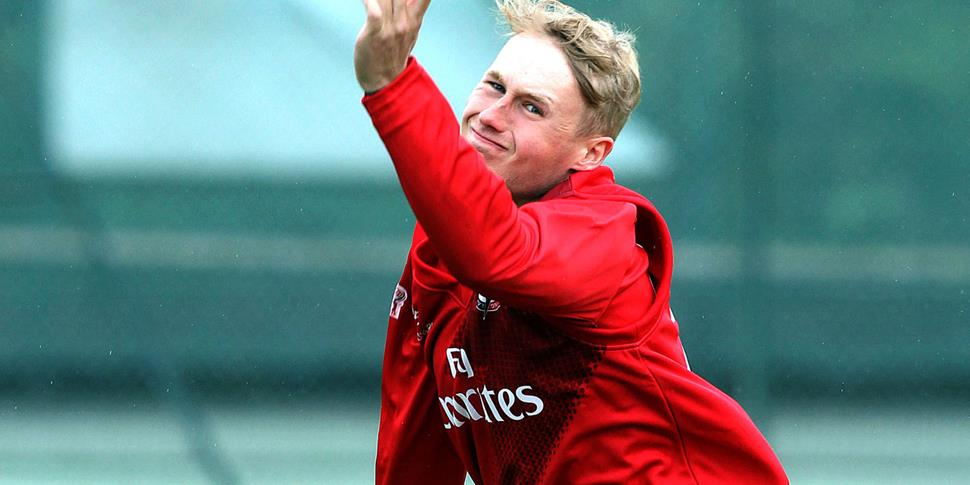 Young Lancashire County Cricket Club player Matthew Parkinson.jpg