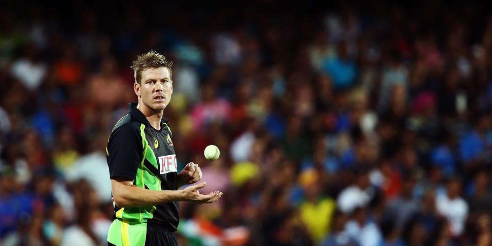 Jimmy Faulkner in the IT20 for Australia against India.jpg