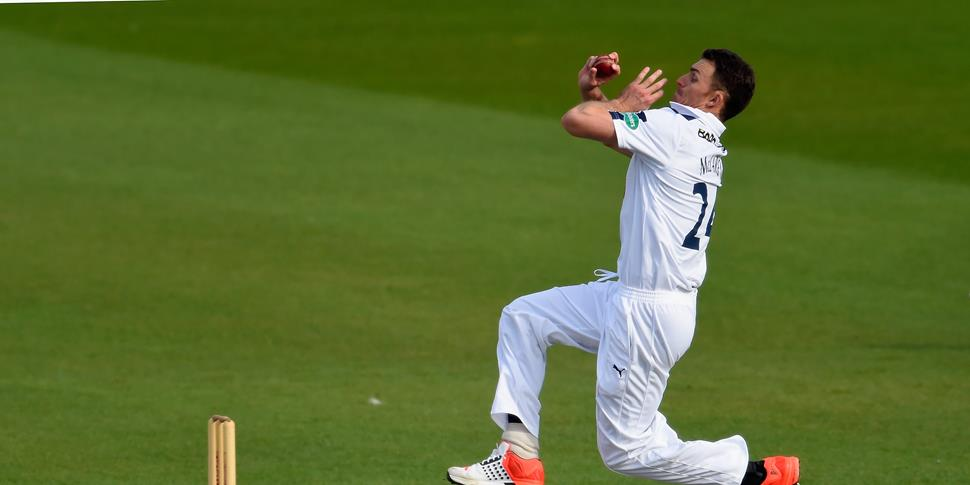 Hampshire bowler Ryan McLaren in the Specsavers County Championship.jpg
