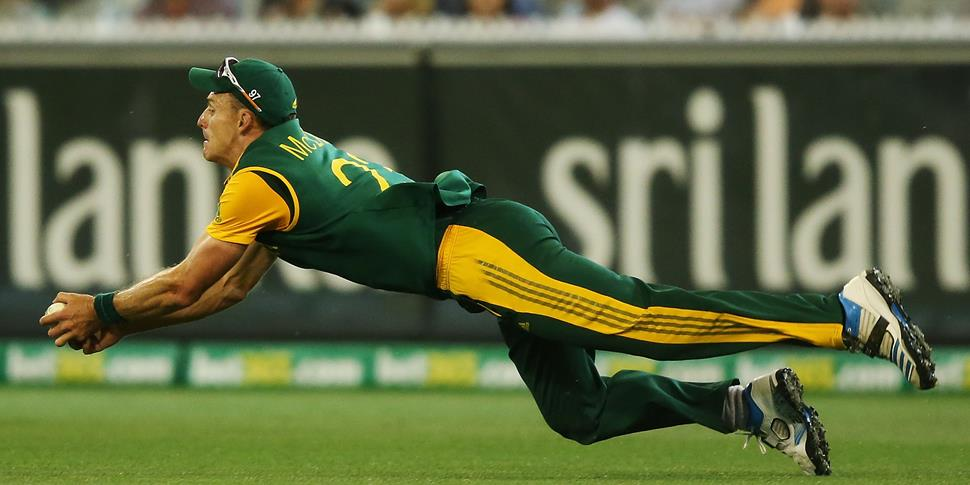 Ryan McLaren takes a catch for South Africa in the ODI against Australia.jpg