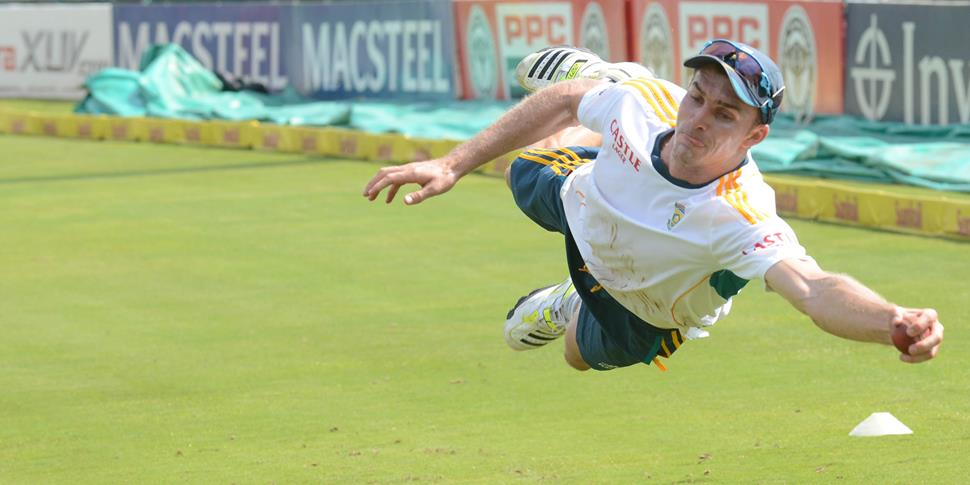 South Africa practice training with Ryan McLaren taking a catch.jpg