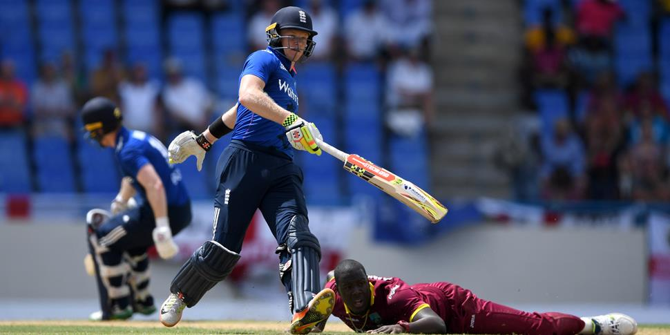 Sam Billings in action for England cricket against the West Indies.jpg