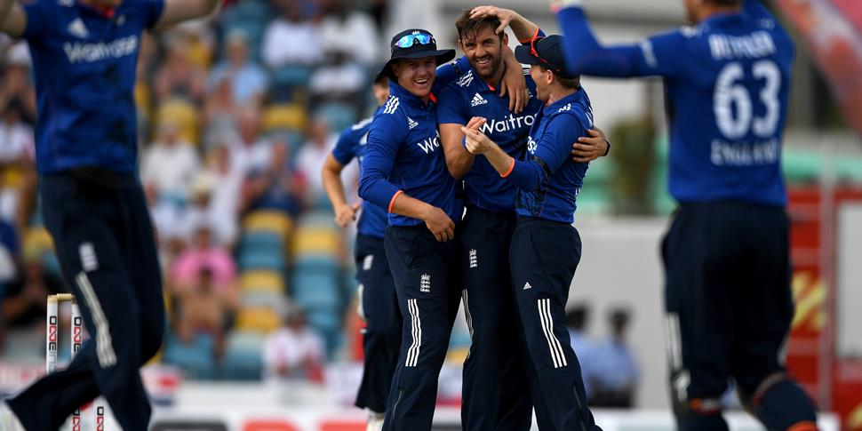 Liam Plunkett celebrates another wicket against Jason Holder.jpg