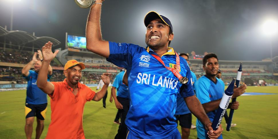 Jayawardene with the ICC World T20 Trophy.jpg