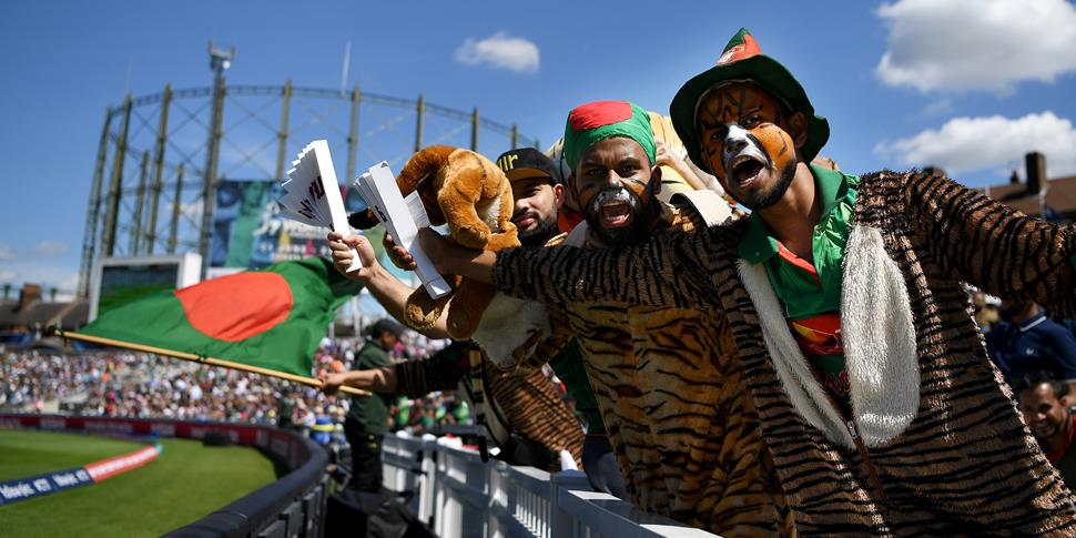Bangladesh fans at the Kia Oval for the ICC Champions Trophy.jpg