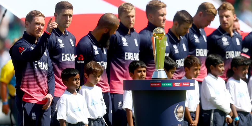 England line up during the opening ceremoyn of the ICC Champions Trophy.jpg