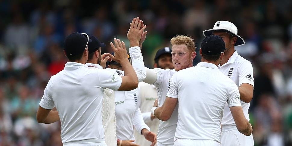 Ben Stokes in action for England in Test cricket.jpg