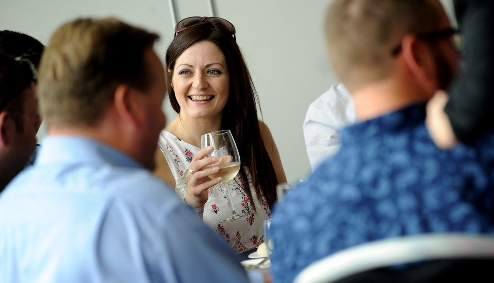 Complimentary drinks service Emirates Old Trafford hospitality.jpg