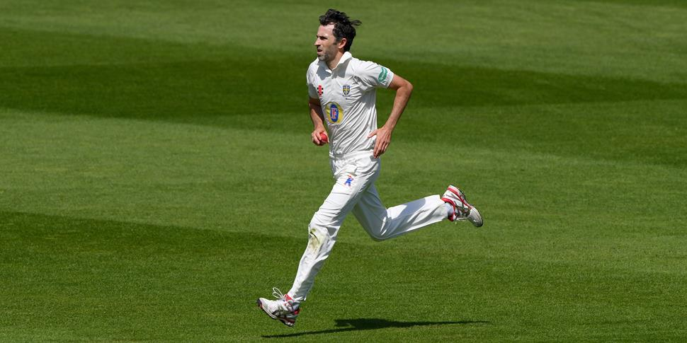 Graham Onions bowling for Durham in the Specsavers County Championship.jpg