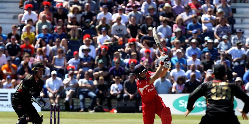 Jos buttler in action in front of a packed crowd in Liverpool.JPG