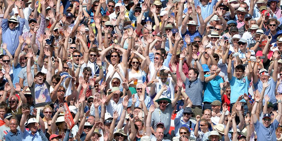 Fan celerate at Emirates Old Trafford during the Vitality Blast.jpg
