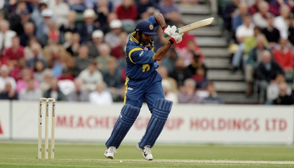 Marvan Atapattu of Sri Lanka playing against Kenya in the Cricket World Cup at the Ageas Bowl.jpg