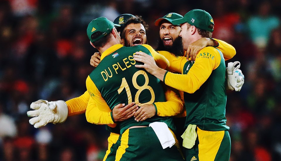 South Africa celebrate during the ICC Cricket World Cup.jpg