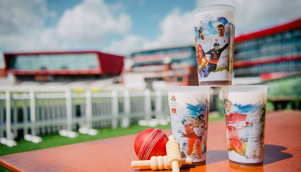 Emirates Old Trafford, Lancashire Cricket reusable cup.jpg