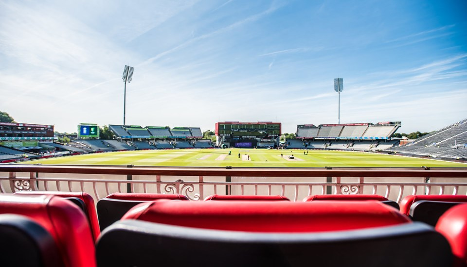 Balcony view from the International Club Suite at Emirates Old Trafford.jpg