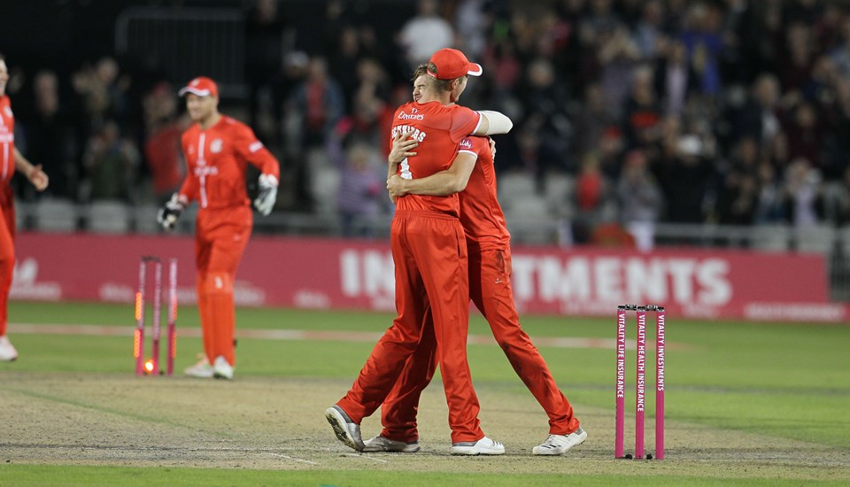 Derbyshire Falcons v Lancashire Lightning, 2019 Vitality Blast, at The County Ground.jpg