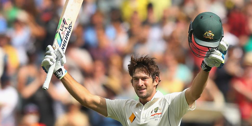 Hundred for australia opening batsman.jpg