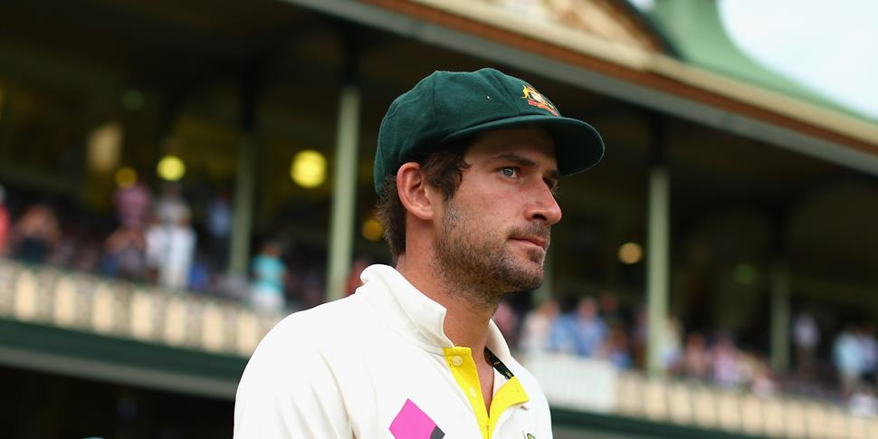 joe burns walks out at the SCG.jpg